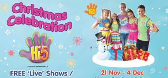 Hi-5 Christmas Celebration 'Live' Shows/ Meet & Greet