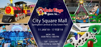 Uncle Ringo is going to City Square Mall!