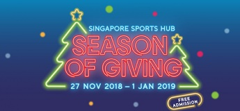 Singapore Sports Hub Season of Giving