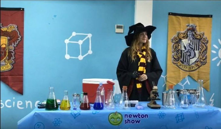 Harry Potter science holiday camp (Center)