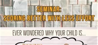 <SEMINAR> Scoring Better With Less Effort