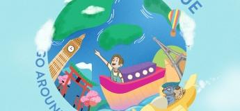 Peter & Blue Go Around the World