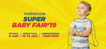 Mothercare's Super BabyFair 19@ mothercare Singapore