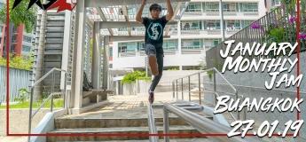 Parkour Singapore January Monthly Jam: Buangkok!