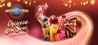 Chinese New Year Celebrations at Universal Studios Singapore™