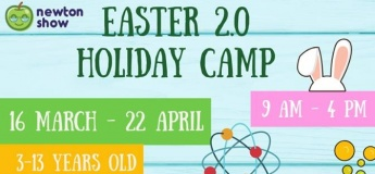 Easter 2.0 science Camp at Newton Show@East