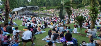 The Great Sing-Off Finals @ Singapore Botanic Gardens