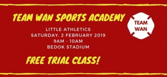Free Trial - Little Athletics by Team Wan Sports Academy