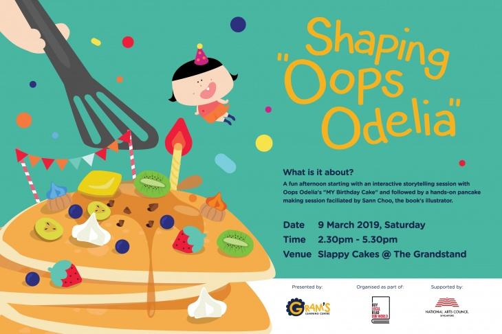 "Shaping ""Oops Odelia"""