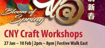 CNY Craft Workshops@Our Tampines Hub