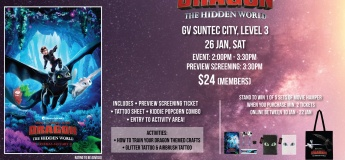 GV Movie Club® Family Day: How To Train Your Dragon: The Hidden World
