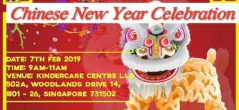 Chinese New Year Celebration @ Kindercare Centre