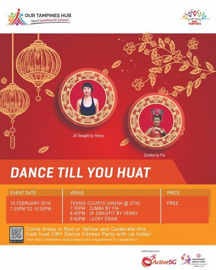 Dance Till You Huat