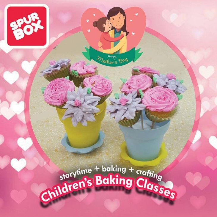 Flower Pot Cupcakes   Tickikids Singapore