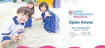 Little Footprints Preschool Open House @ Sims