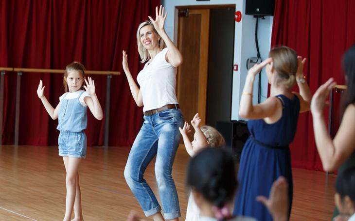 Parent-Child Workshop – Basic Indian Dance