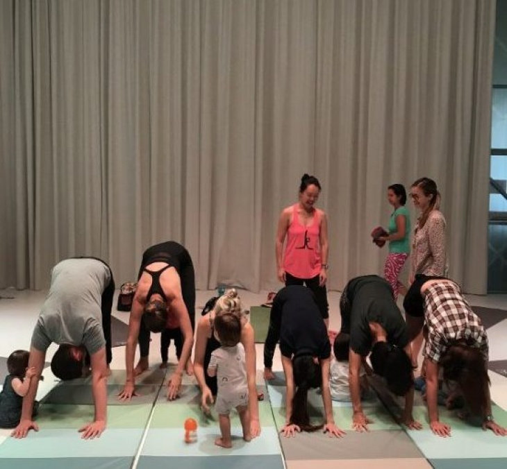 """(Fully Booked) Baby Yoga Fridays - """"Roos"""""""