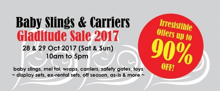 Baby Slings Carriers Gladitude Sales 2017 Baby Fair Tickikids