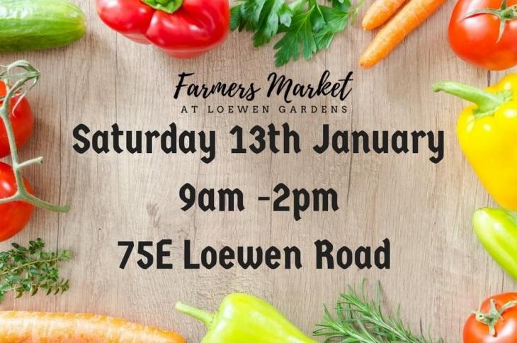 Farmers Market at Loewen Gardens