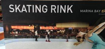 Skating Rink at Marina Bay Sands